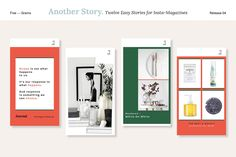 Another Story. Instamag Stories by Five — Grains on @creativemarket