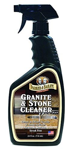 Parker Bailey cleaning product Granite Stone Cleaner 24 oz >>> Click image for more details. Cleaning Granite, Cleaning Hacks, Cleaning Supplies, How To Clean Granite, Granite Stone, Household Cleaners, Bathroom Cleaning, Slate, Natural Stones