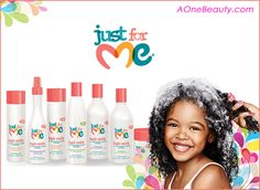 Just For Me Hair Care for Girl http://www.aonebeauty.com/brands/Just-For-Me.html?sort=newest #justforme #haircare