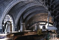 Incredible H.R. Giger bar puts you in the belly of the Xenomorph | Dangerous Minds