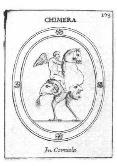 Chimera (Laurent Natter, Traite de la Methode Antique, 1754).