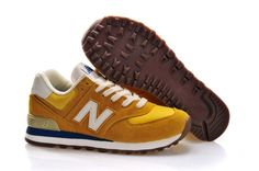 TO2Z New Balance (NB) 70s Running 574 Classics Sneakers Dames Geel Goud Wit,Stylish trainers hot sale with 80% off right here.