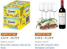 """Amazon: Katzenfutter, Südtiroler Speck und Bier-Adventskalender rabattiert https://www.discountfan.de/artikel/technik_und_haushalt/amazon-katzenfutter-suedtiroler-speck-und-bier-adventskalender-rabattiert.php """"Alles für die Katz"""" ist heute bei Amazon zu Schnäppchenpreisen zu haben. Neben Katzenfutter sind am heutigen Donnerstag außerdem Leifheit-Produkte, Weinpakete, Aktenvernichter und Bier-Adventskalender zu haben.  Amazon: Katzenfutter, Südtiroler"""