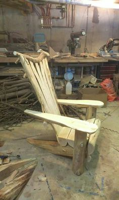 Adirondack chair. By Whitten Hill Studio