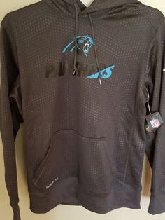 f1c10d7defdd Nike Carolina Panthers Therma Fit Sweatshirt Size Large Adult for sale  online