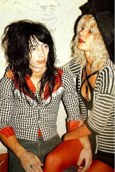 Johnny Thunders & Sable Starr