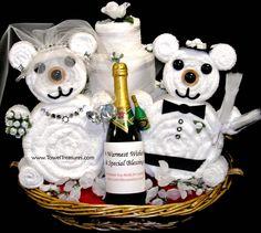 wedding gift baskets ideas | ... CAKE WEDDING PERSONALIZED CHAMPAGNE BOTTLE WEDDING EXTRAS GIFT