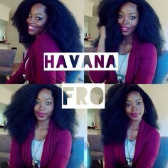 UNBOXING the HAVANA FRO / Natural hair protective style