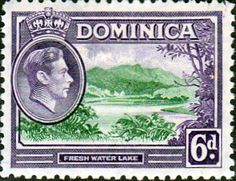 Dominica 1938 King George VI SG 105 Fine Used Scott 104 Other Dominica Stamps HERE