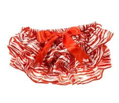 Amazon.com: Baby Christmas Satin ruffle Diaper Bloomer Covers by juDanzy: Clothing