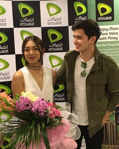 """Had to control my #Jadine fangirl heart because we had to escort and protect them. Thank you @etisalat and @kapamilyatfc for bringing them and entrusting…"""