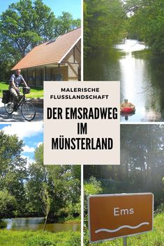 The idyllic Ems cycle path in the Münsterland offers concentrated nature in the Ems . Ems, Koh Lanta Thailand, Mountain Bike Races, Base Trim, Bike Path, Bicycle Race, New Hobbies, Staycation, Germany Travel