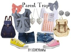 Cute for BFFs to match! Parent Trap!