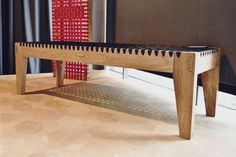 Loft bench Solid Wood Furniture, Outdoor Furniture, Outdoor Decor, South African Homes, Farm Cottage, Cottages, Dining Bench, Tables, Banks