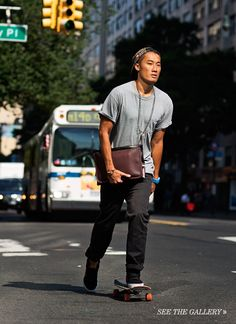The Sartorialist for Coach  mens Coach- great styles