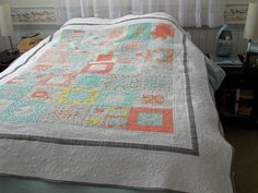 This is an heirloom quilt, designed to be loved by many generations. With the right care, it will last for hundreds of years.