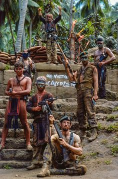 The horror! Apocalypse Now unseen – in pictures Great Films, Good Movies, Pulp Fiction, Apocalypse Now, Apocalypse Survival, Dennis Hopper, Francis Ford Coppola, War Film, Marlon Brando
