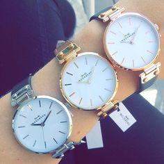 ✨Mockberg⌚️✨ Hvilken farge liker du best? Gull, sølv eller rosé? Cred: @dryss_mote  www.handlegaten.no✔️ Fri frakt✔️