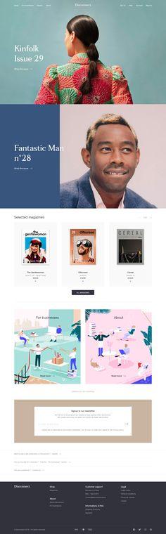 Disconnect landing page design inspiration - Lapa Ninja Design Your Own Website, Website Design Layout, Web Layout, Layout Design, Simple Web Design, Graphic Design Tips, Type Design, Best Landing Page Design, Composition Design