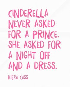... just sayin✨✨✨ TAG your Cinderella Crew #karitraa #forgirlsbygirls