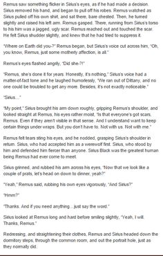 the marauders - remus and sirius part 3