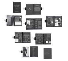 MENS BLACKBOOK by Pieces , via Behance