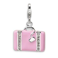 Fine Jewelry Conscientious Amore La Vita Sterling Silver Cz Numeral 2 Click-on Lobster Clasp Charm Pendant Jewelry & Watches