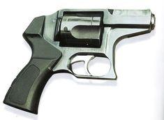"types of  handguns | 94 ""Udar"" revolver (Russia)"