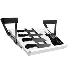 Under Cabinet Knife Block - White in Knife Storage                                                                                                                                                                                 More