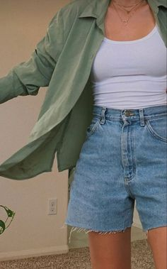 Swaggy Outfits, Cute Casual Outfits, Summer Outfits, Stylish Outfits, Bild Outfits, Neue Outfits, Teen Fashion Outfits, Retro Outfits, Vintage Outfits