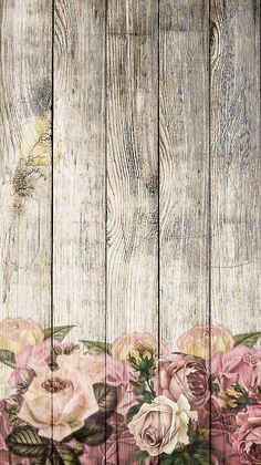 Floral Wallpaper Phone, Wallpaper Nature Flowers, Flower Background Wallpaper, Framed Wallpaper, Beautiful Nature Wallpaper, Wood Wallpaper, Flower Backgrounds, Cellphone Wallpaper, Wallpaper Backgrounds