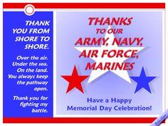 free memorial day ecards