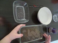 karabiber ile el yıkama deneyi Sheet Pan, Montessori, Elsa, Springform Pan