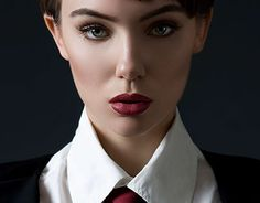 """Check out new work on my @Behance portfolio: """"Short Hair, Of Course!"""" http://be.net/gallery/48702509/Short-Hair-Of-Course"""