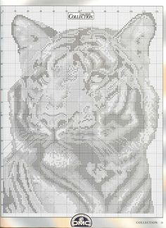 Gallery.ru / Фото #12 - Cross Stitch Collection 058 ноябрь 2000 - tymannost,  Tiger