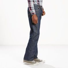 Levi's 501 Shrink-to-Fit Jeans (Big & Tall) - Men's 50x34