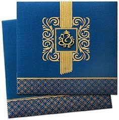Regal Hindu Wedding Marriage Invitation Cards   Hindu Wedding ...