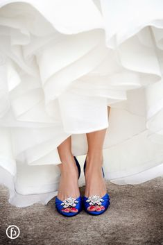 blue wedding shoes #dawninvitescontest