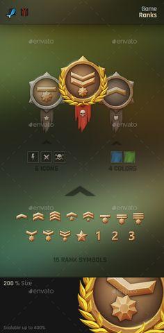 Game Ranks on Behance