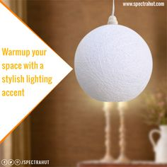 Warmup your space with a stylish lighting accent. Wood Ceilings, Ceiling Beams, Faux Wood Beams, Hanging Ceiling Lights, Handmade Lamps, Works With Alexa, Your Space, Home Improvement, Lighting