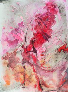 """Saatchi Art Artist Nadia NL; Painting, """"Splash"""" #art"""