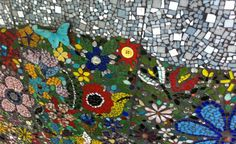 While I was looking for pictures to help my students remember vocabulary words I stumbled upon this website. I love this art with the motifs of butterflies and flowers. So peaceful!