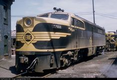 RailPictures.Net Photo: Erie 861 Erie Railroad Alco PA-1 at Hoboken, New Jersey by Bob Krone