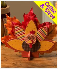 Gobble Up Kids Turkey Decoration - Project