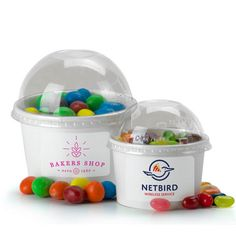 Sweeten up your next event with one of our delicious candy fills inserted inside our sturdy yogurt cup! Great for party favors at Bar/Bat Mitzvahs, Sweet Sixteens, and Weddings. Contact sales@misterpromotion.com!  Website: www.misterpromotion.com  Phone: 212-677-7666