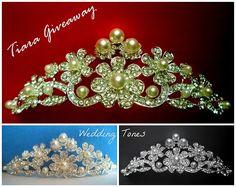 Wedding Tones: Wedding Tones Giveaway with Bridal Tiara