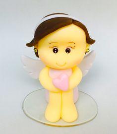 Mini Topo de bolo batizado menino