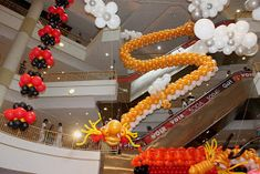 I read about the balloon dragondecorationswhich were speciallycreated for the Chinese New Year at Ipoh Paradein Ipoh from the ...