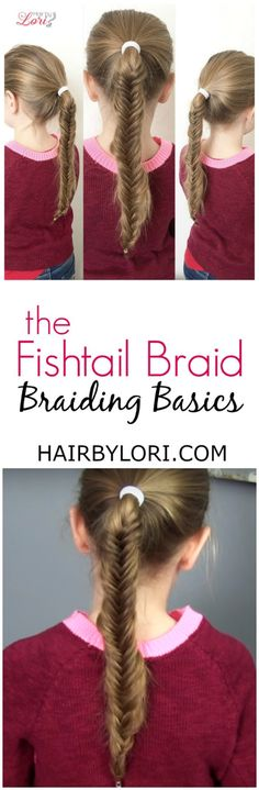 Beautiful Braiding Basics How to Fishtail Braid Idea - Unique herringbone braid Trending
