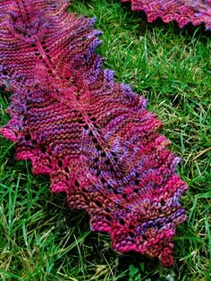 Lamina scarf: Knitty First Fall 2010  Another free pattern...I think I may be converting over from crocheting...
